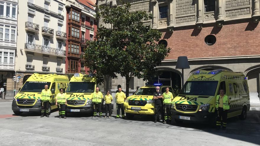 DYA refuerza su flota de vehículos de emergencia para la asistencia en Aste Nagusia de Bilbao