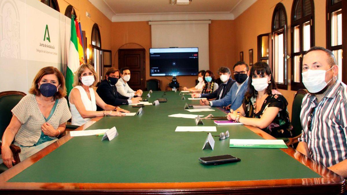 Foro de Inmigración de la Junta de Andalucía en Córdoba.