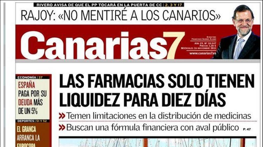 De las portadas del día (16/11/2011) #2