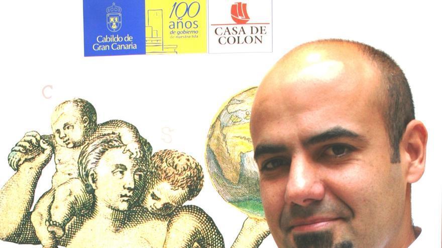 El historiador y especialista en Arqueología del Conflicto y la II Guerra Mundial, Artemi Alejandro.