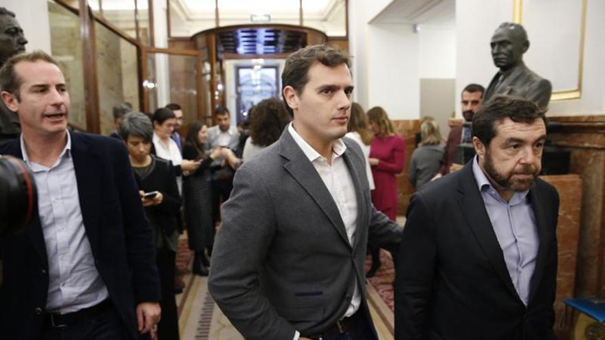 """Rivera no cree que nadie """"en su sano juicio"""" piense en nuevas elecciones"""