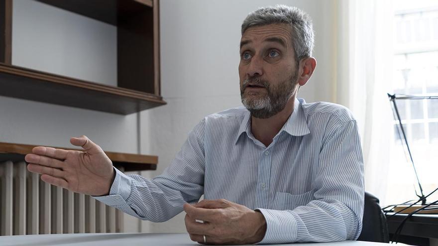 Javier Ceruti, portavoz de Ciudadanos en Santander. | JOAQUÍN GÓMEZ SASTRE