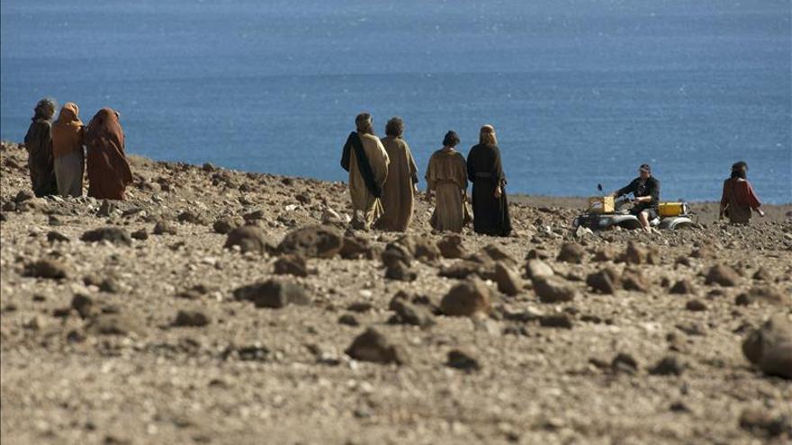"""Scott cree que """"Exodus"""" descubrirá el potencial de Fuerteventura para el cine"""
