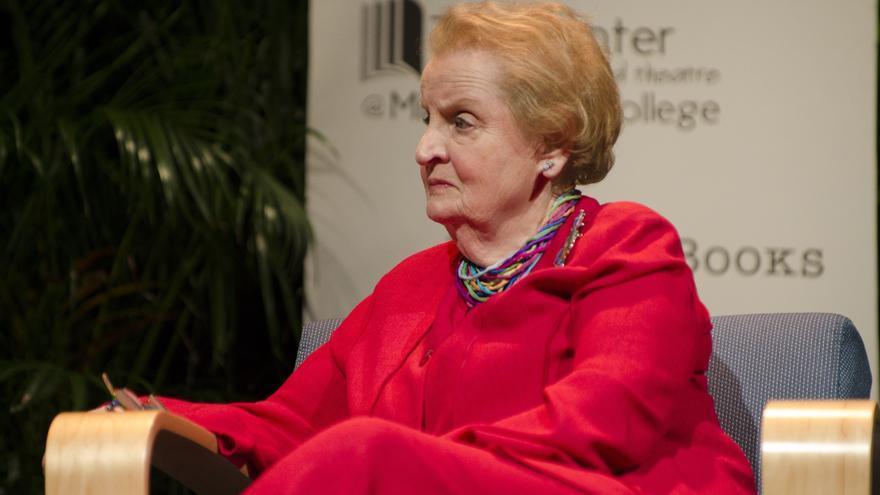 Madeleine Albright o los hijos de Suu Kyi estaban en lista negra de Birmania