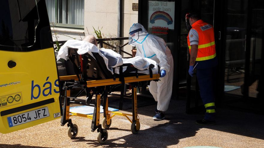 Galicia, récord de nuevo con 1.802 contagios y otros 53 hospitalizados