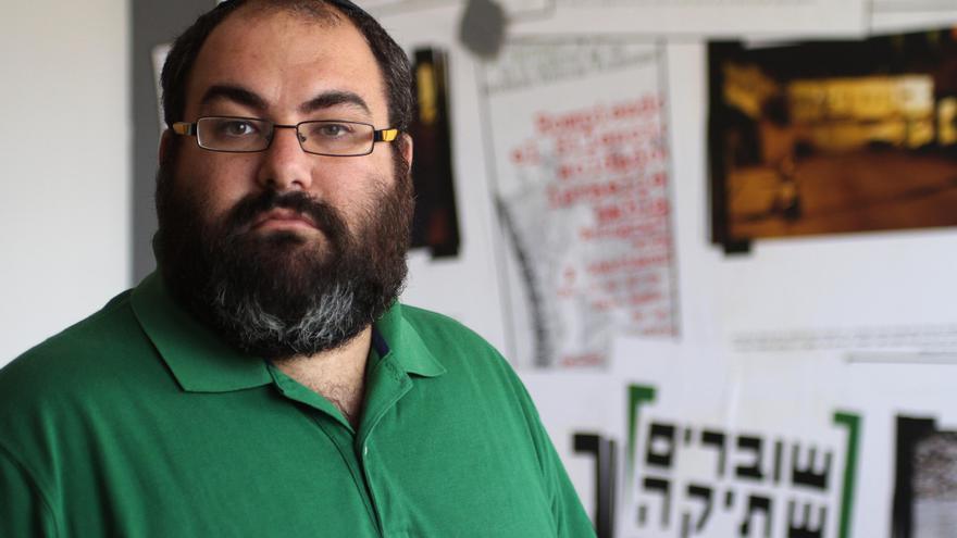 Yehuda Sául, fundador de Breaking the Silence, lucha para que la sociedad israelí asuma la realidad de la ocupación. Foto: Quique Kierszenbaum