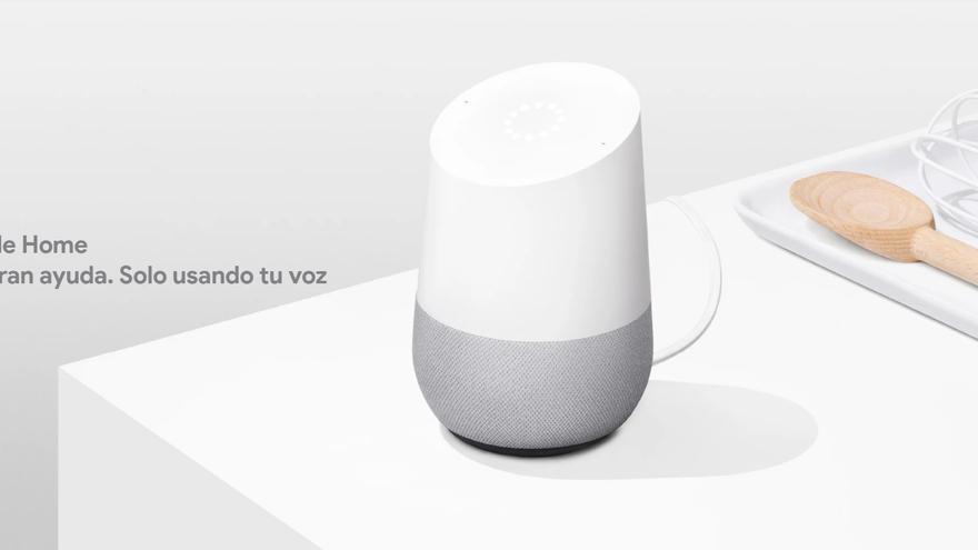 Publicidad de Google Home.