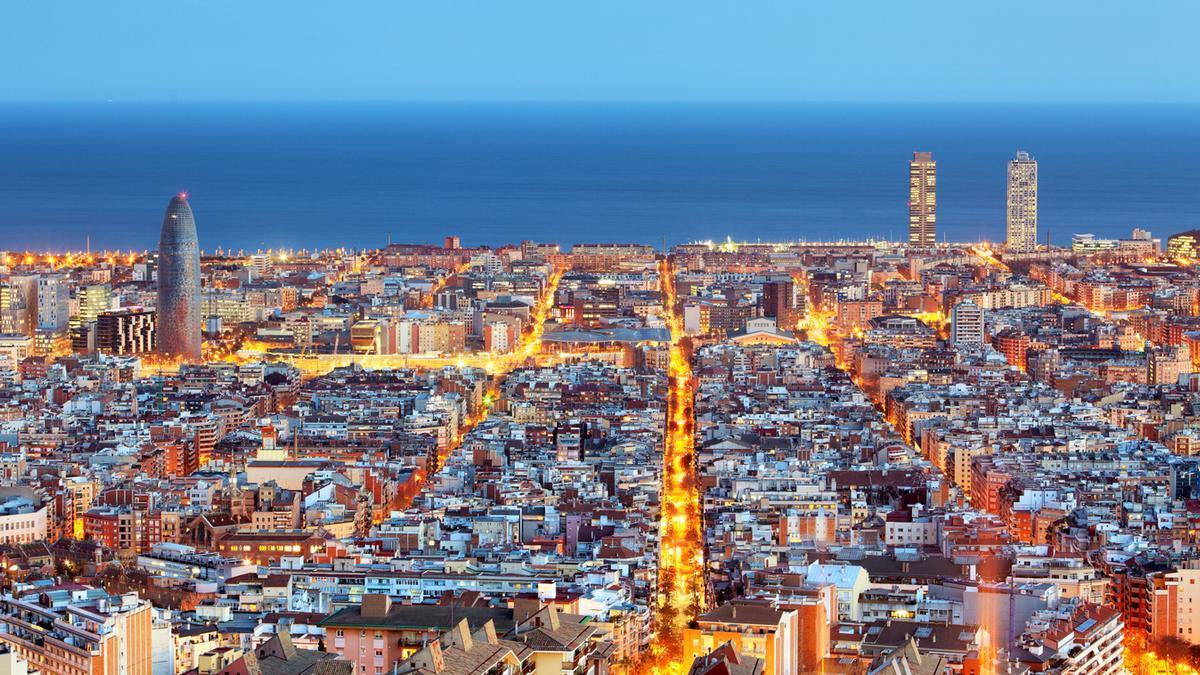 La ciudad de Barcelona.