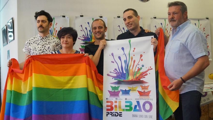 Bilbao acogerá hasta el domingo el 'Bilbao Pride', para celebrar la diversidad y hacer visible al colectivo LGTB