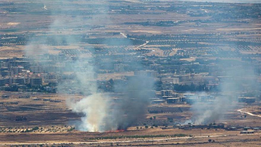 Al menos dos muertos por el impacto de proyectiles en Damasco