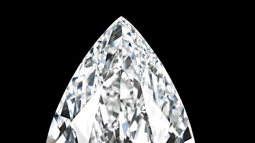 Subastado un diamante incoloro perfecto por 26,7 millones de dólares