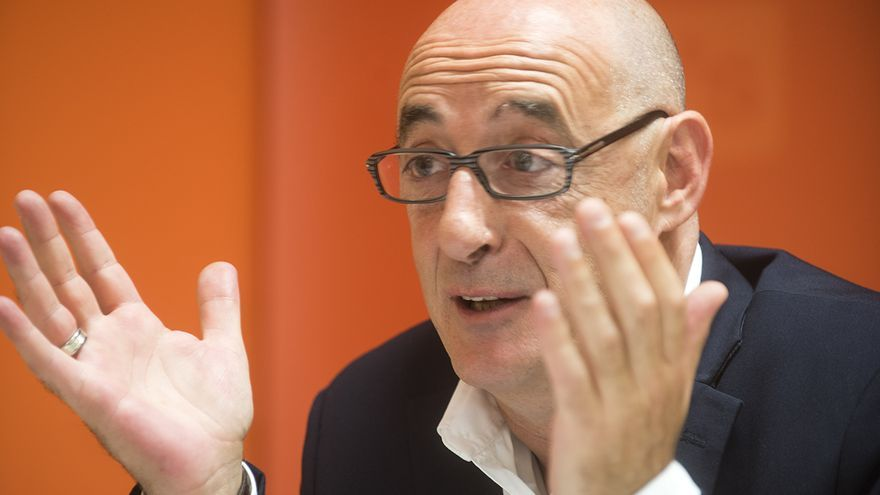 Félix Álvarez, diputado por Cantabria y portavoz autonómico de Ciudadanos. | JOAQUÍN GÓMEZ SASTRE