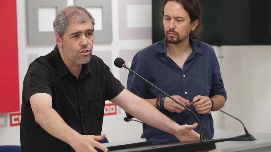 CCOO y Podemos coinciden en sus planes para luchar contra la desigualdad