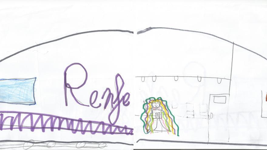 Dibujo AVE Renfe