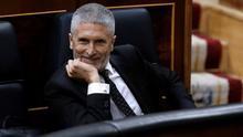 Marlaska niega haber conocido el informe de la Guardia Civil sobre el 8M y lo desliga del cese de Pérez de los Cobos