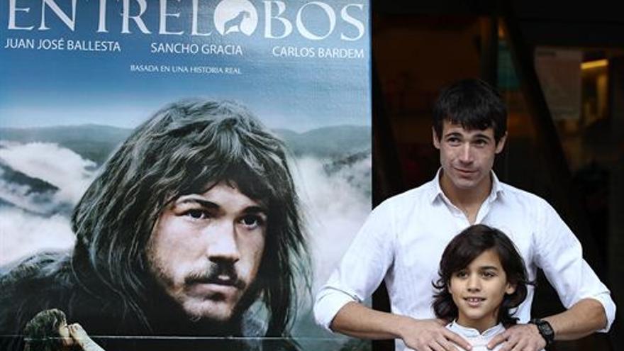 Gerardo Olivares en la presentación de 'Entre lobos'. (EUROPA PRESS)