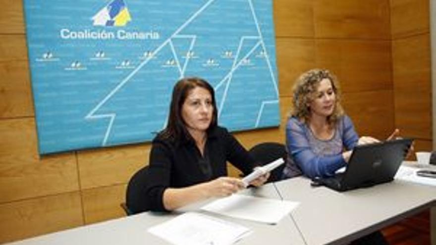 Claudina Morales y Mari Mar Julios.(ACFI PRESS)