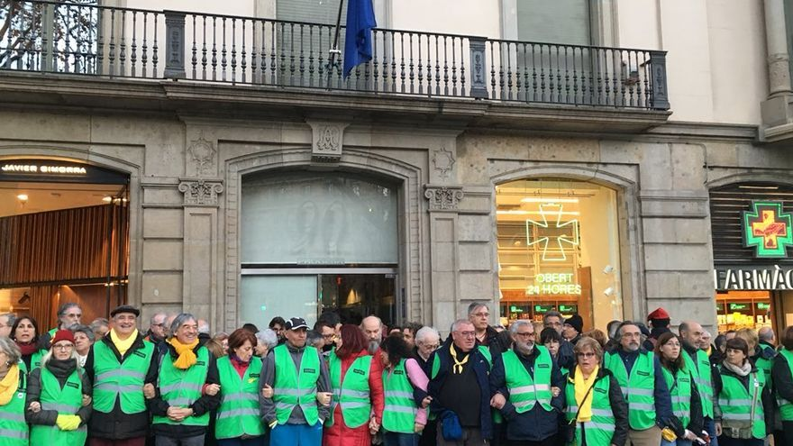 Activistas de la ANC ocupan la sede de la Comisión Europea