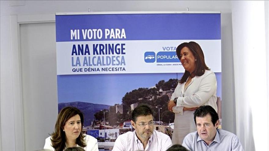 """Rafael Catalá defiende que España """"necesita seguir con las políticas del PP"""""""