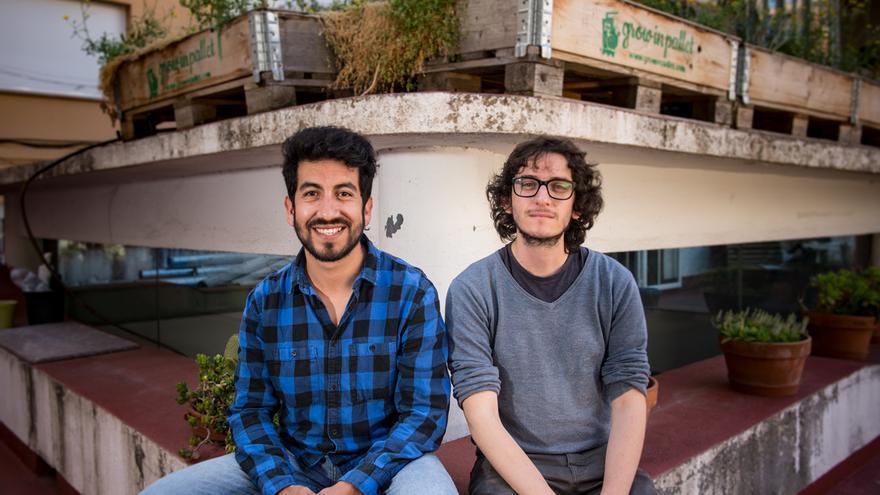 Hugo Vásquez i Andrés Peralta, investigadors del l'Agència de Salut Pública