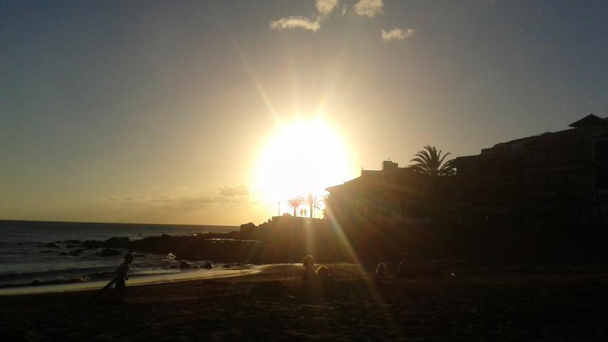 Puesta de sol en La Gomera