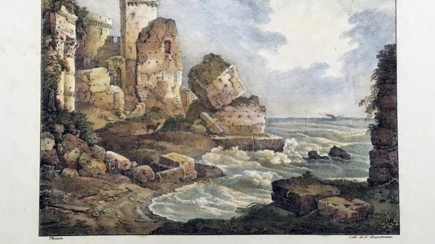 Los puertos de Tierra Santa se muestran tal y como eran hace más de 400 años