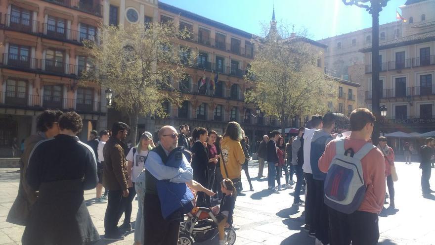 Manifestación contra el cambio climático en Toledo