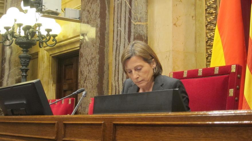 Forcadell se reunirá el lunes con la Asociación Catalana de Víctimas del Terrorismo