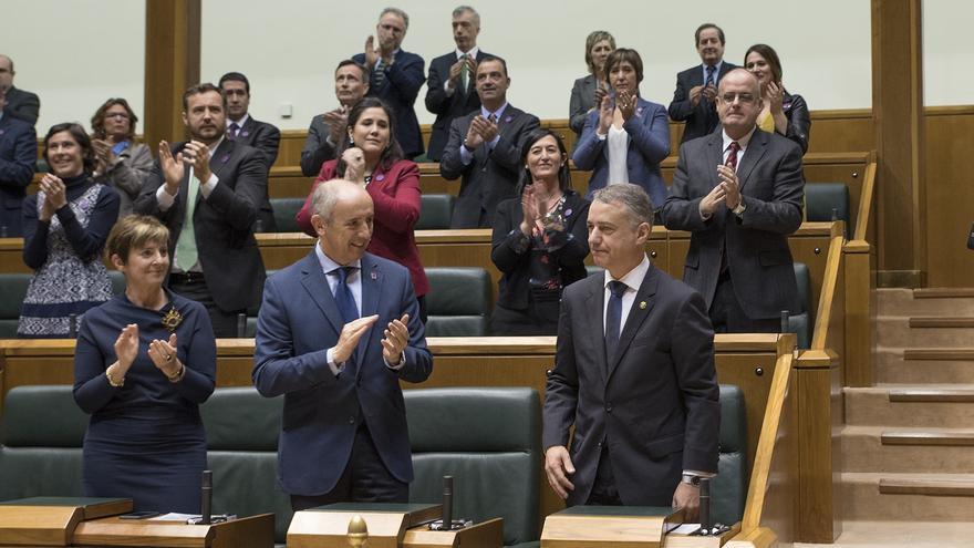 Iñigo Urkullu investido Lehendakari en 2016