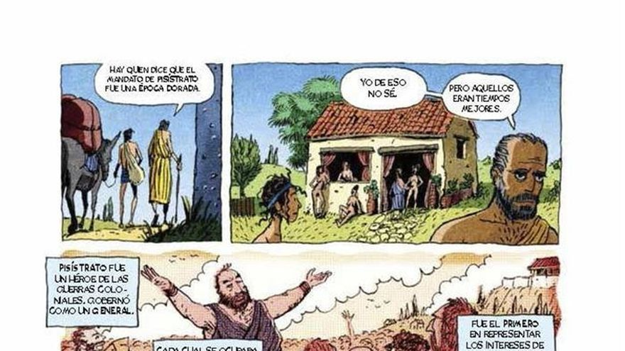El cómic vuelve a recordar cómo nació la democracia