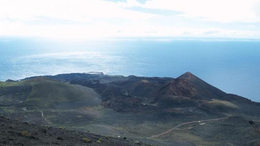 Imagen del Monumento Natural Volcán de Teneguía.