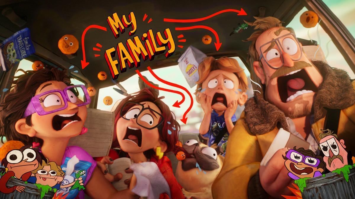 Películas de animación en Netflix
