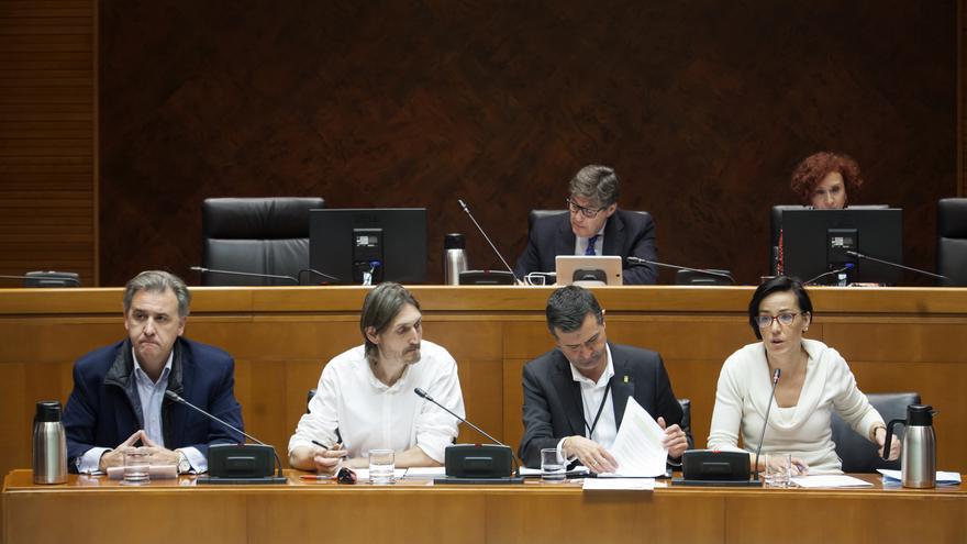 De izquierda a derecha: Joaquín Francisco Moreno, Javier Carbo, Joaquín Noé y Sofía Ciércoles
