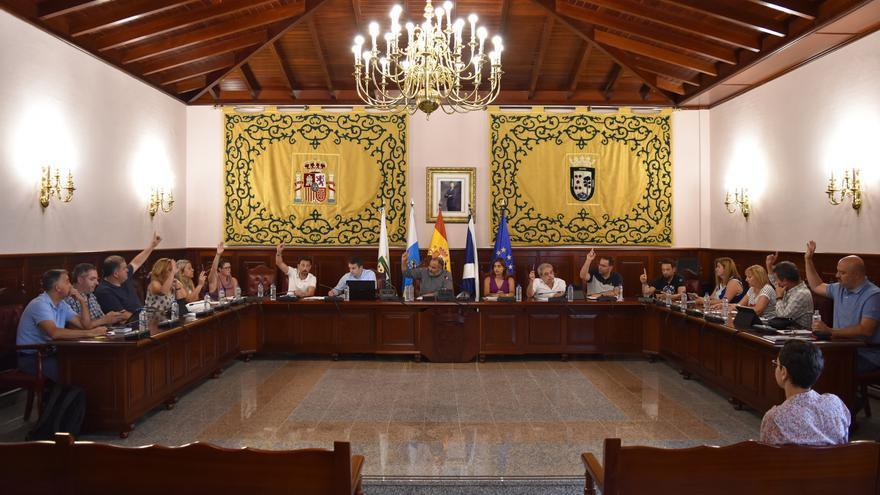 Sesión plenaria de este miércoles en El Rosario, isla de Tenerife