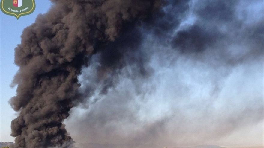 Incendio de Chiloeches (Guadalajara)