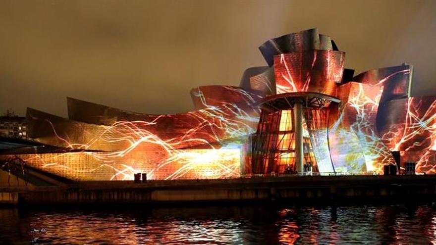 """El Guggenheim subraya su modernidad con la fantasía visual """"Reflections"""""""