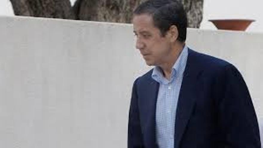 Eduardo Zaplana, el día de su detención.