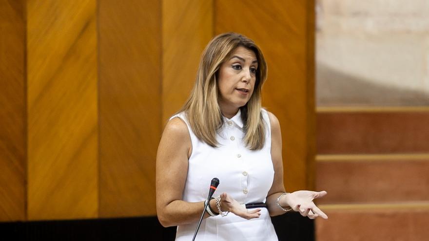 """Podemos responsabiliza a Díaz de que Andalucía esté """"a la cola"""" en UE y ésta le afea compartir discurso """"con la derecha"""""""