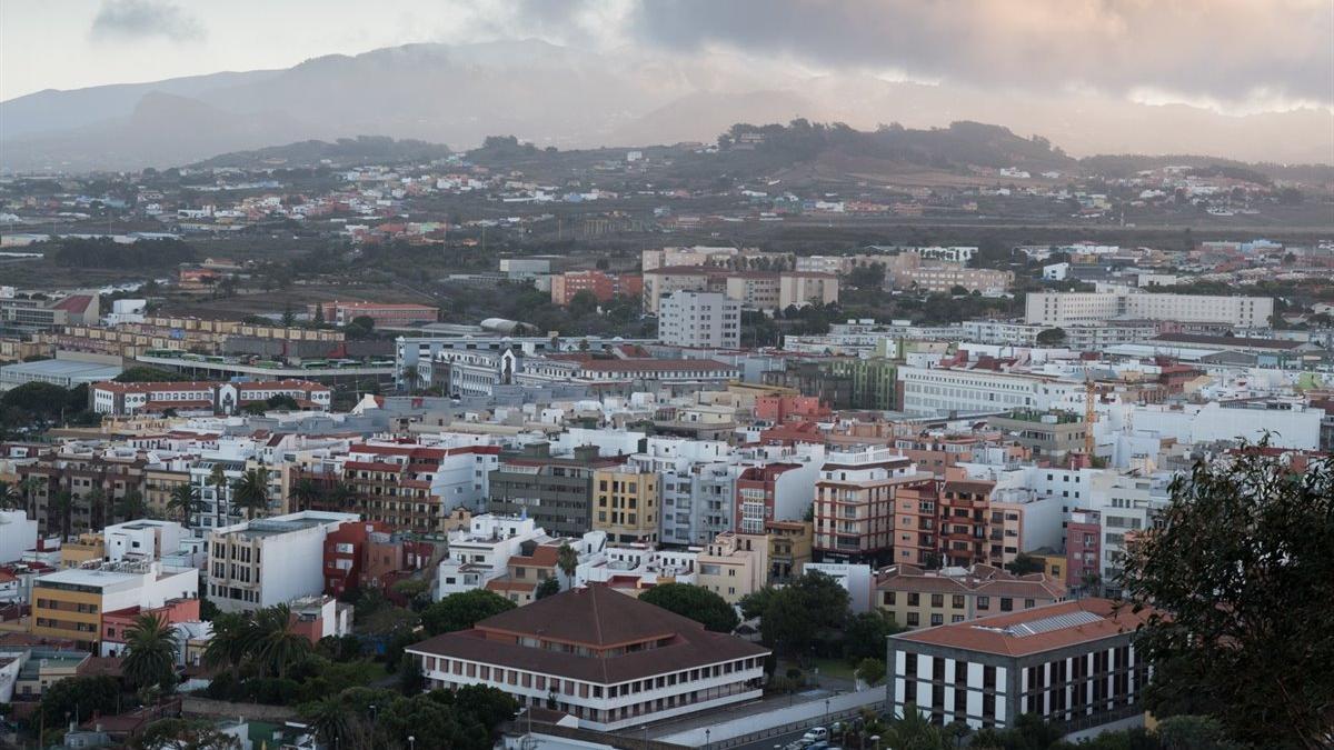 Vista de la ciudad de San Cristóbal de La Laguna