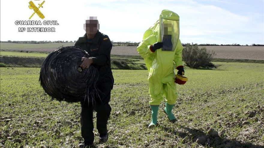 Denuncian la caída de un segundo objeto espacial en Calasparra (Murcia)