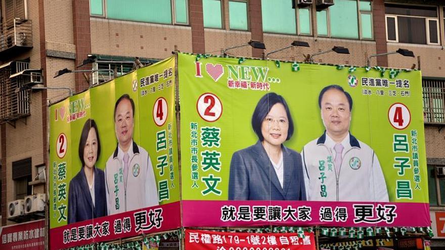 Nueva presidenta independentista de Taiwán toma posesión del cargo