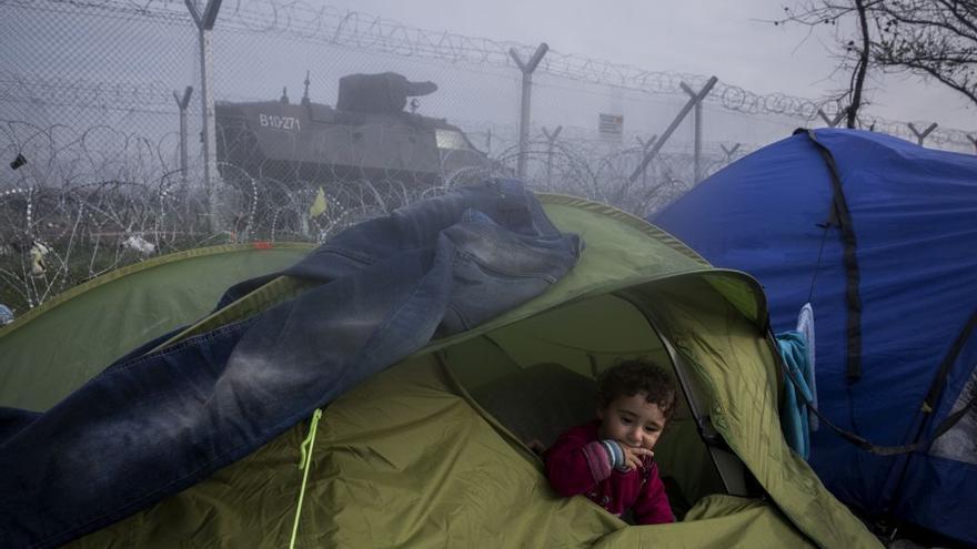 El campo de refugiados de Idomeni (Grecia)