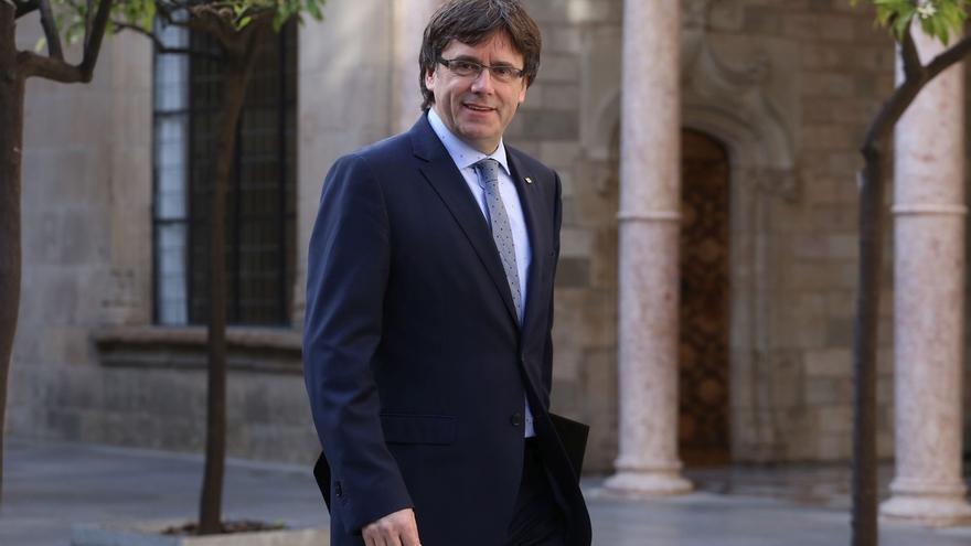 Puigdemont augura que un Estado catalán volvería enseguida a la UE si quedara fuera