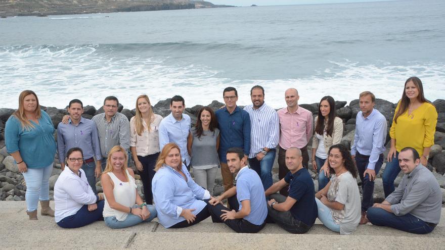 Candidatos de Coalición Canaria a las elecciones generales por la provincia de Las Palmas.