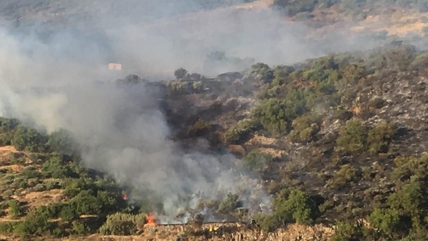 Incendio en Telde