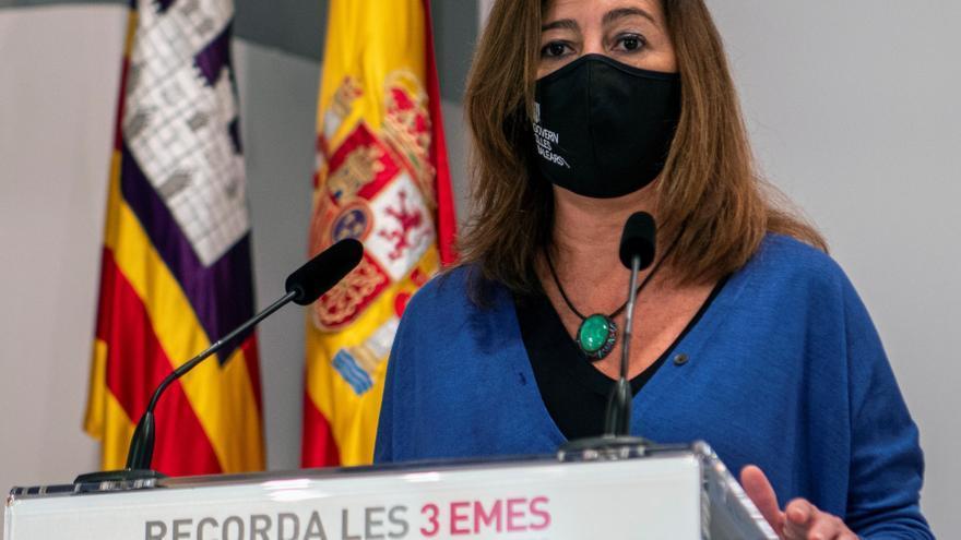 Baleares pide poder dictar confinamientos domiciliarios y más ayuda estatal