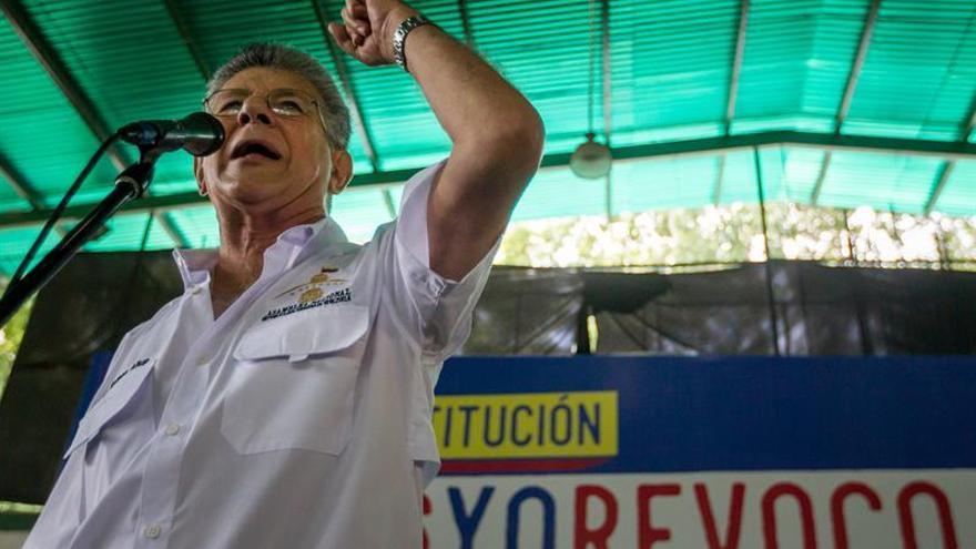 El presidente del Parlamento venezolano viaja a Washington para asistir a la OEA