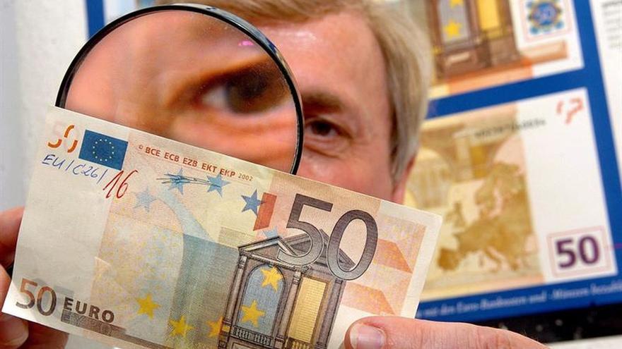 El BCE introducirá el nuevo billete de 50 euros el 4 de abril de 2017