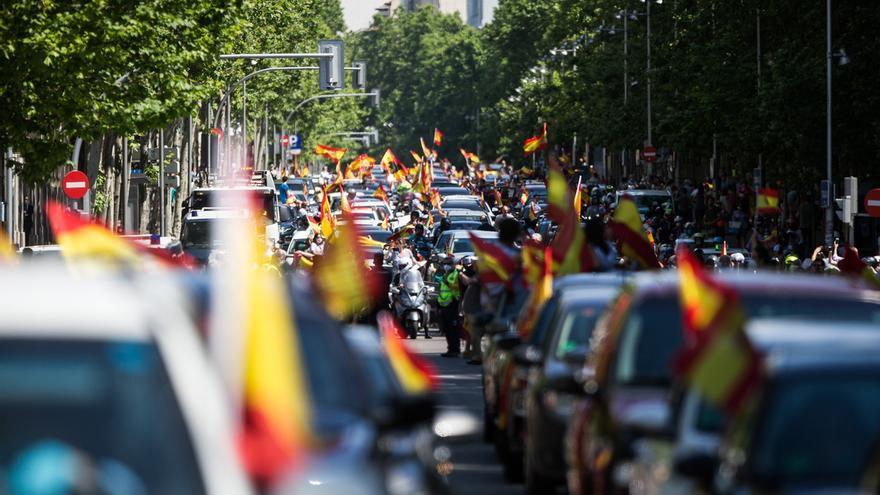Espinosa de los Monteros compara la manifestación de Vox con la celebración por el Mundial de Fútbol