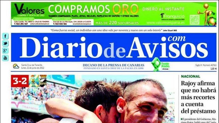 De las portadas del día (11/06/2012) #3